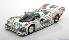 Rennsport Norev 1:18 Porsche 962C No.19, 1000km Mugello Bellof/Boutsen 1985 Torno Limited Edition 1000 pcs. www.modelissimo.de