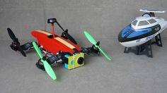 Tilt Rotor FPV Racing Quadcopter OFM Swift TR260 Teaser Promo