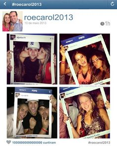 Instagram frame for party! GREAT IDEA!