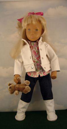Nouvelle-poupee-Sasha-6-piece-tenue-Blouson-de-cuir-et-Bottes-inclus-par-Vicky