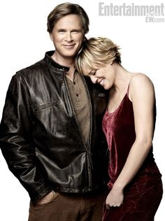 Cary Elwes and Robin Wright (aka Westley and Buttercup)