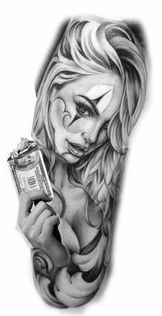 Tattoos Discover 70 Photos of Men& Forearm Tattoos Photos and Tattoo Design tattos Tattoo Girls Skull Girl Tattoo Girl Face Tattoo Clown Tattoo Girl Tattoos Hand Tattoos For Guys Trendy Tattoos Gangsta Tattoos Chicanas Tattoo Tattoo Girls, Skull Girl Tattoo, Girl Face Tattoo, Clown Tattoo, Girl Tattoos, Tattoos For Guys, Skull Tattoos, Trendy Tattoos, Unique Tattoos