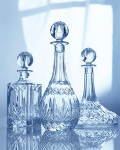 babyblue.quenalbertini: Crystal bottles | It's a Colorful Life
