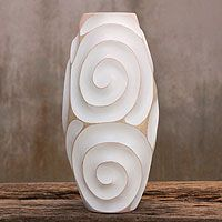 White Melody of Art from @NOVICA, They help #artisans succeed worldwide.