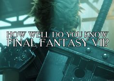 Final Fantasy VII is a classic role-playing masterpiece, but well do you really know it? Final Fantasy Vii, Do You Really, Quizzes, Did You Know, Finals, Science Fiction, Wellness, Entertaining, Sci Fi