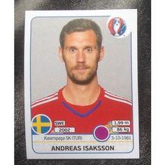 Football Soccer Sticker Panini UEFA Euro 2016 #549 Sweden