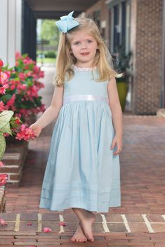 Red White Royal Blue 4th Of July Flower Girl Summer Bridesmaids Toddler Dress#24