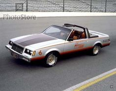 1981 Buick Regal Pace Car.