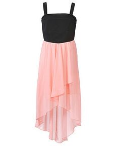Ruby Rox Girls Dress, Girls Chiffon High-Low Dress
