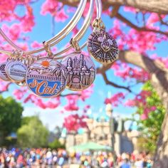 ALEX AND ANI Disney Charm Bangles | Available on disneystore.com and at the theme parks in both Disney Land and Disney World