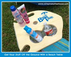 Enter to WIN an Awesome Beach Table Ends 9/5/13