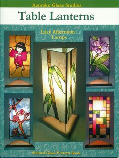 Table Lanterns Stained Glass Pattern Book, Books, Lights #Patterns