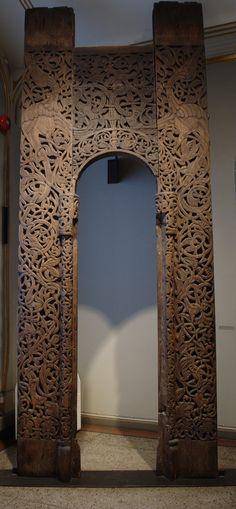 Portal fra Sauland stavkirke John Erling Blad (2009)