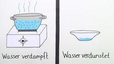 Lerne Wann verdunstet Wasser? verständlich per Video erklärt auf sofatutor.com!