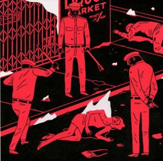Cleon Peterson - Disappear Into Midnight