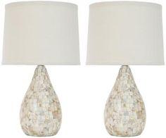 Capiz Shell LampHome Decorators $199