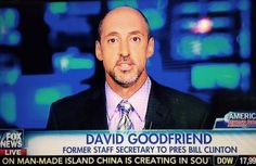 "David Goodfriend, a top staff secretary for President Clinton, wants more controls on anti-Islamic expression in America. Goodfriend believes Shariah is not a threat but freedom of speech is a serious threat. Goodfriend joined America's Newsroom this morning: ""I don't…  5.29.15"