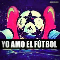 Yo Amo el fútbol<3