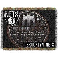 Brooklyn Nets NBA Commemorative Woven Tapestry Throw