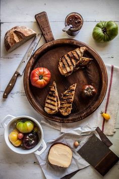 Smoked Gouda and Tomato Sage Grilled Cheese / Adventures in Cooking