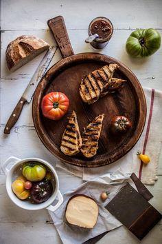 Smoked Gouda & Tomato Sage Grilled Cheese