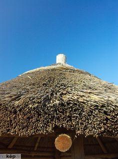 farmhouse thatched roof,Lake Balaton, Hungary