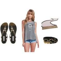 """""""Outfit Inspiration: Edgy Chic (music festival fashion)"""" by styleshack on Polyvore"""