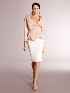 Donna Karen Resort Collection 2012/2013. I love the softness of the jacket.