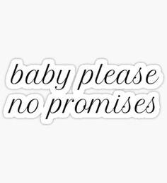 Pegatina Shawn Mendes-No hay promesas