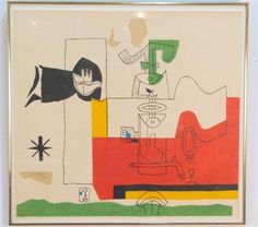 Artwork by Le Corbusier, Totem, Made of Lithograph