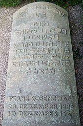 Franz Rosenzweig - Wikipedia Continental Philosophy, Martin Buber, Western Philosophy, Torah