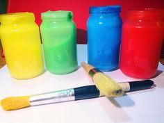 Slow Cooker Finger Paints (non toxic)