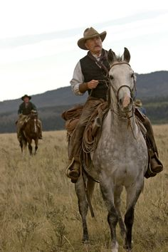 Robert Duvall - he made an Awesome Cowboy in Lonesome Dove!