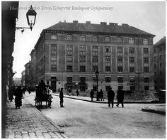 Életkép az egykori Józsefvárosból a Práter utcából nézve (1916) - Forrás: bpkep.fszek.hu