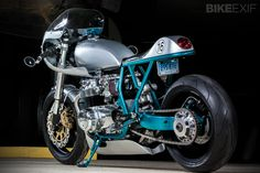 KDI Cycles in Connecticut in the US is the home of Kevin Dinsmoor's cafe racer creations. Kevin prides himself in doing. Custom Cafe Racer, Cafe Racer Bikes, Cafe Racer Motorcycle, Cafe Racers, Women Motorcycle, Motorcycle Quotes, Motorcycle Helmets, Ducati Motorcycles, Custom Motorcycles