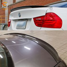 Universal Fit 44 Inches BMW M3 Style Rear Trunk Lip Spoiler Wing Unpainted