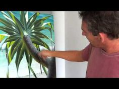 ▶ How to Paint Trees | Over The Shoulder with Mark Waller - YouTube