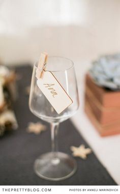 Rustic Natural Christmas - I like the little pegs | The Pretty Blog