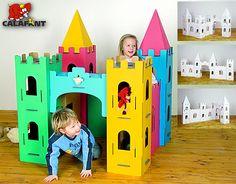 castelo de papelao