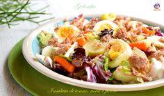 Insalata+di+tonno,+uova+e+patate,+ricetta+gustosissima