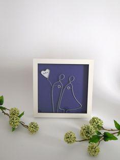 Hochzeitsgeschenk für das Brautpaar, Geldgeschenk Hochzeit / wedding gift, money gift made by gemellery via DaWanda.com