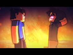 "EPIC MINEQUEST 5   ""Steve meets Herobrine"" by Sam Green Media - YouTube"