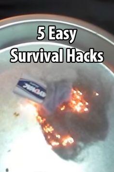 survival shtf life hacks on Pinterest