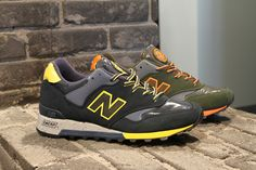 "Pitti Uomo 83: New Balance 577 ""Rain Mac"" Fall/Winter 2013 Preview"