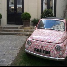 Very Cath Kidston!  Oh MY Goodness!!  This would fit in perfect in Fort Bragg!!  Love it!!