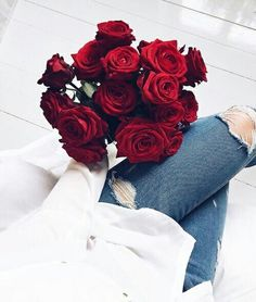 Discovered by xhevi. Find images and videos about rose, flowers and red on We Heart It - the app to get lost in what you love.