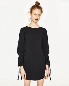 BOW SLEEVE DRESS-DRESSES-WOMAN | ZARA United States