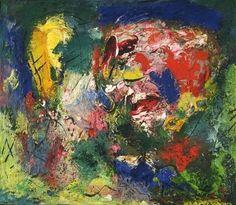 Hans Hofmann. Flowering Desert. 1953