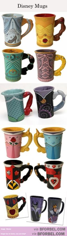 13 Different Disney Mugs…