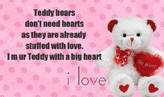 Happy Teddy Bear Day Teddy Bears For Valentines Day: Hey guys Today is Happy teddy Day. And we wish you a very Happy Teddy day. Its 10 February today Happy Teddy Bear Day, Big Teddy Bear, Wishes For Friends, Day Wishes, Good Life Quotes, Best Friend Quotes, Teddy Day Images, Teddy Bear Quotes, Valentine Day Week